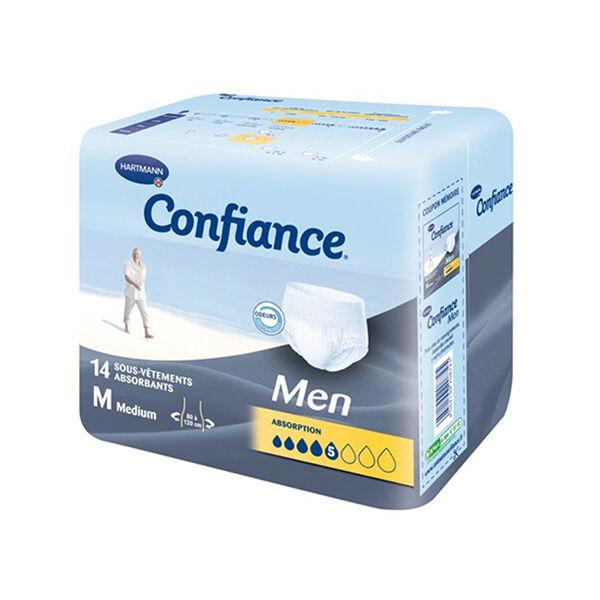 Hartmann Confiance Men Absorption 5 Gouttes Taille M 8 sous-vêtements