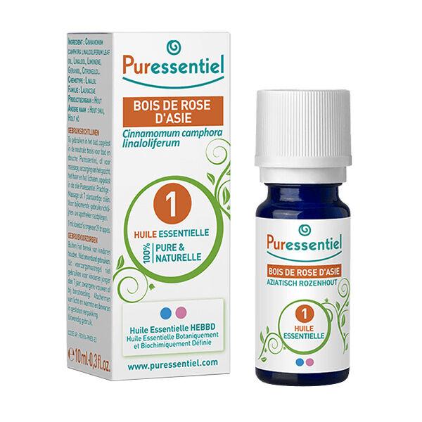 Puressentiel Huile Essentielle Bois de Rose 10ml (Cinnamomum camphora linalooliferum)