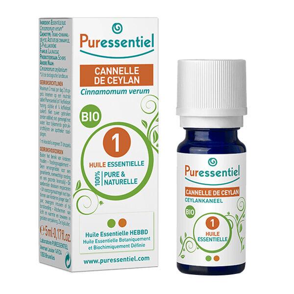 Puressentiel Huile Essentielle Cannelle de Ceylan Bio 5ml