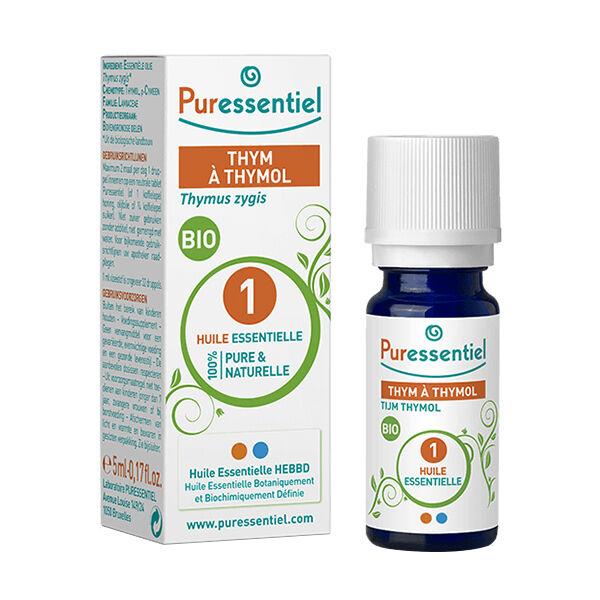 Puressentiel Huile Essentielle Bio Thym à Thymol 5ml