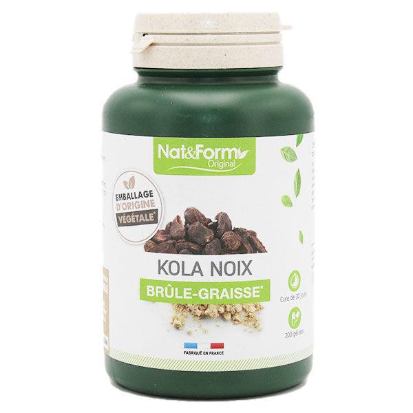 Nat & Form Noix de Kola 200 gélules
