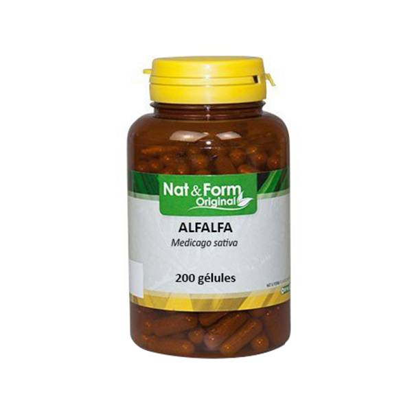 Nat & Form Alfalfa 200 gélules