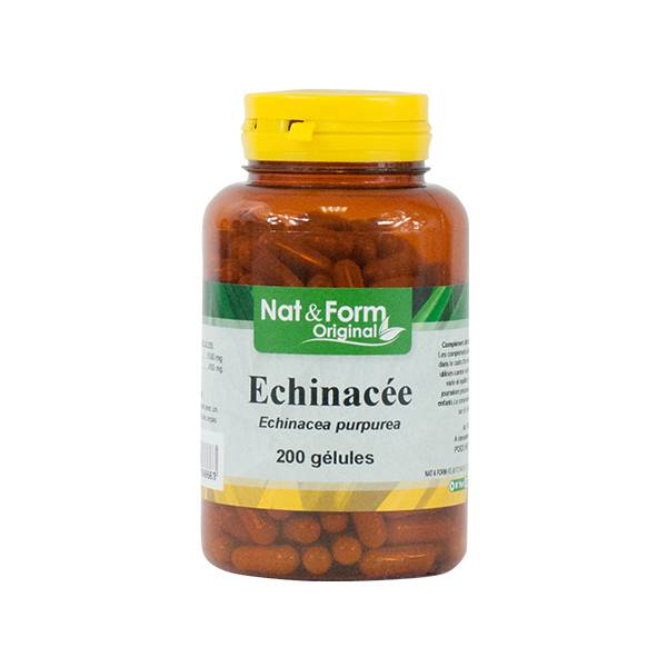 Nat & Form Echinacéa 200 gélules