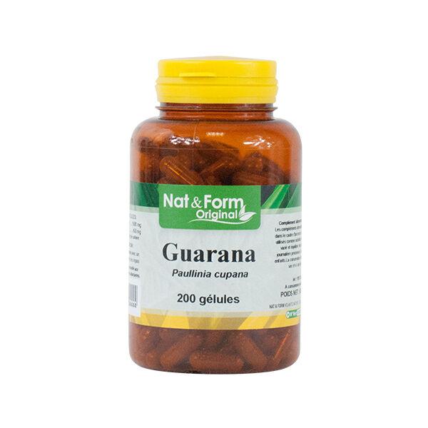 Nat & Form Guarana 200 gélules