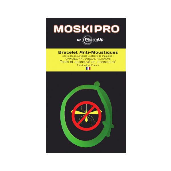 Pharm'up Bracelet anti-moustiques vert