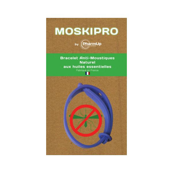 Pharm'up Bracelet anti-moustiques aux huiles essentielles vert