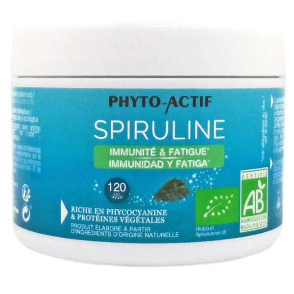 Phyto-Actif Phytoactif Spiruline Bio Poudre 120g