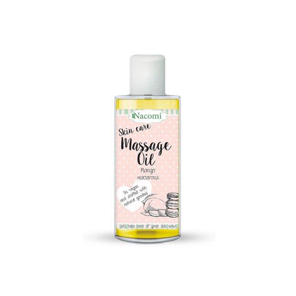 Nacomi Huile de Massage Macarons à la Mangue 150ml