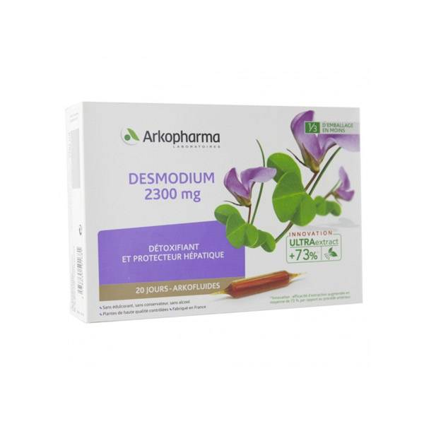 3550168 Arkofluides Desmodium 2300mg 20 ampoules