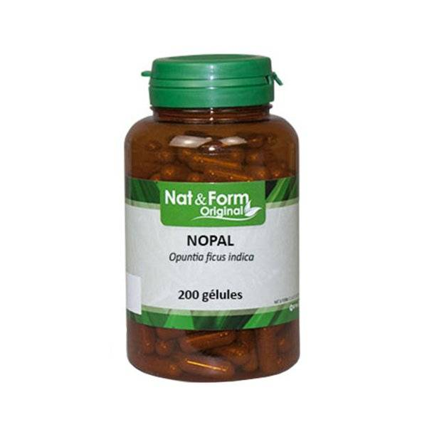 LCS_0000178 Nat & Form Naturellement Nopal 200 gélules