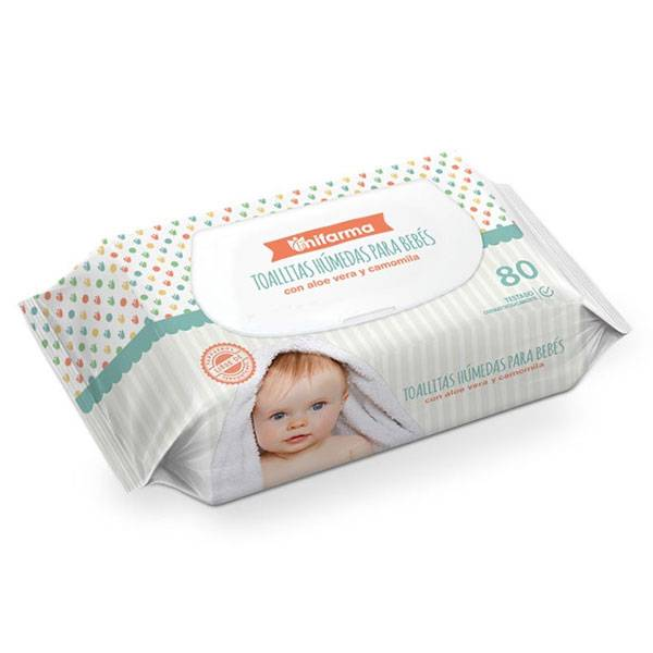 Mifarma Baby Lingettes 80 unités