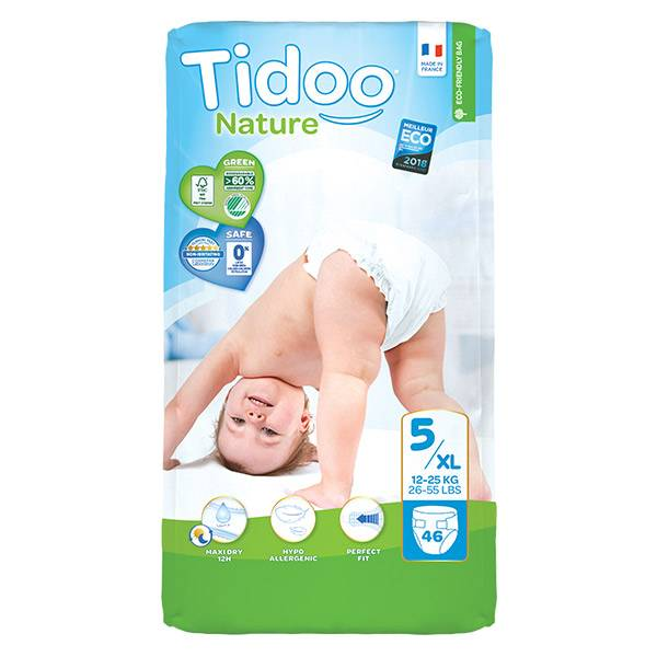 Tidoo Night & Day Couches Taille 5 Junior 46 couches