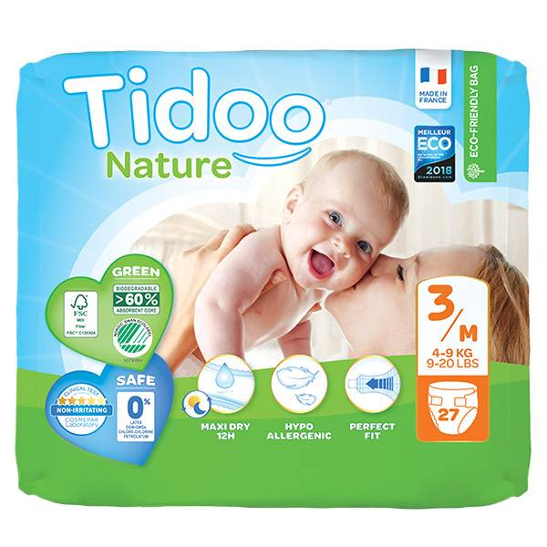 Tidoo Night & Day Couches Taille 3 Mini 27 couches
