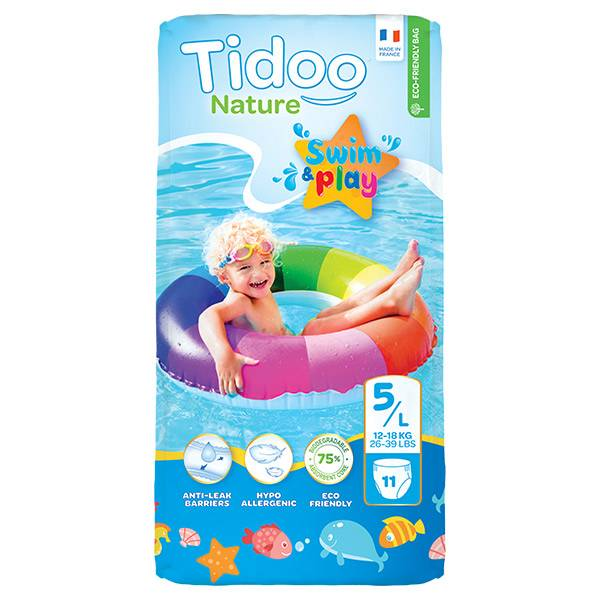 Tidoo Swim & Play Culottes de Bain Taille 5 11 culottes jetables