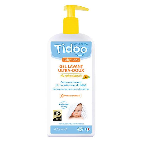 Tidoo Soin Gel Lavant Ultra Doux Corps & Cheveux Bio 475ml
