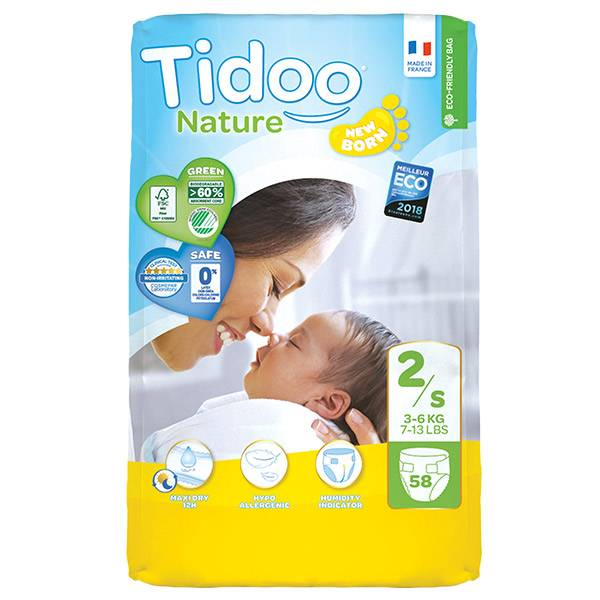 Tidoo Night & Day Couches Taille 2 Mini 58 Couches