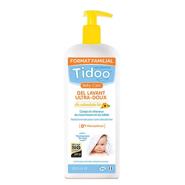 Tidoo Soin Gel Lavant Ultra Doux Corps & Cheveux Bio 950ml