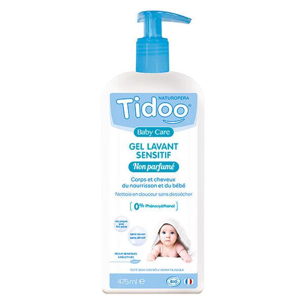 Tidoo Soin Gel Lavant Sensitif Bio 475ml