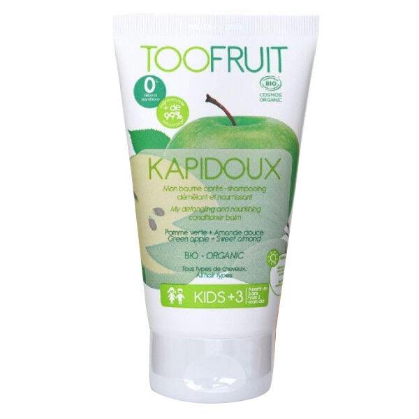 Toofruit Kapidoux Baume Après-Shampoing Pomme Verte Amande Bio 150ml