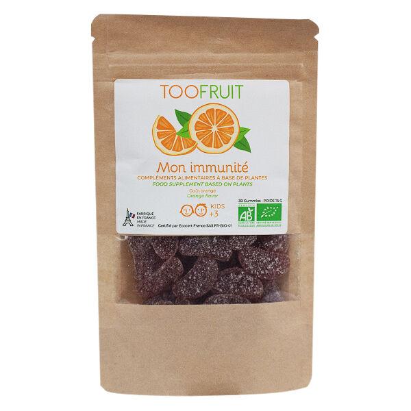 Toofruit Mon Immnunité Bio Kids 30 gommes