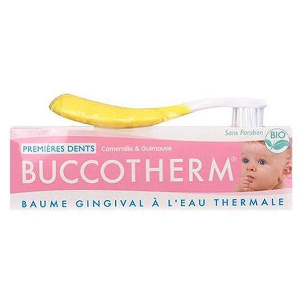 Buccotherm Kit Premières Dents Gel + Brosse à Dents