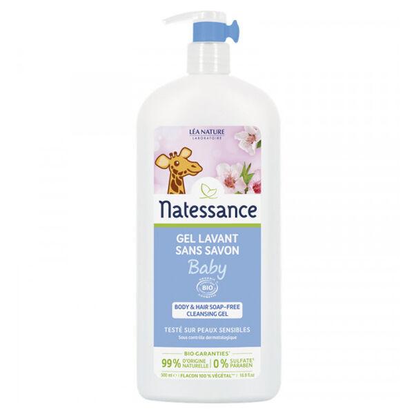 Natessance Baby Gel Lavant Sans Savon Bio 500ml