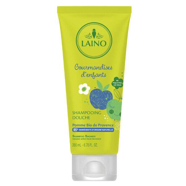 Laino Gourmandises d'Enfants Shampooing Douche Pomme Bio 200ml