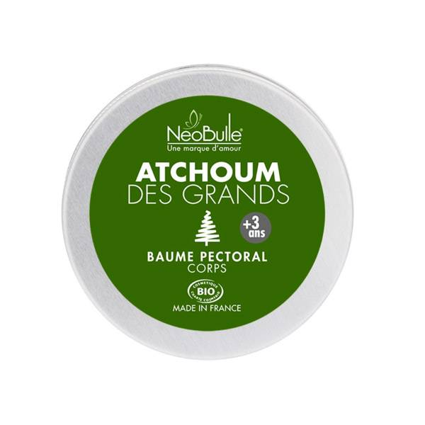 Neobulle Atchoum des Grands Baume Pectoral Bio 50ml