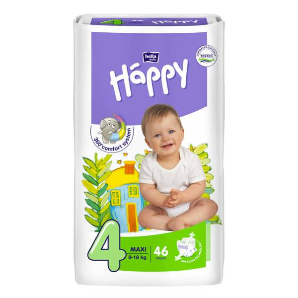 Happy Couches Bébé Maxi T4 46 couches