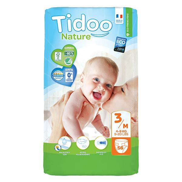 Tidoo Couches Night & Day T3 Midi (4 - 9kg) 56 couches