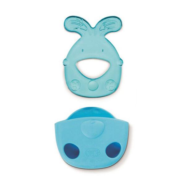 Nuk Développement Anneau de Dentition Réfrigérant +3m Lapin Bleu