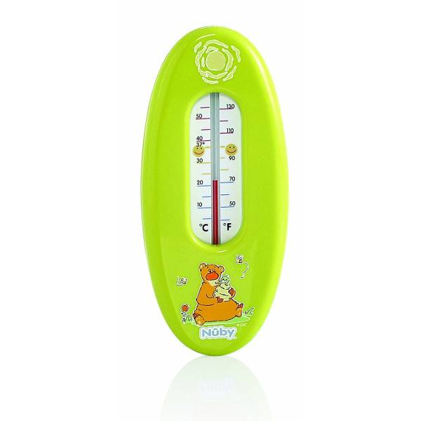 Nuby Thermomètre de Bain Vert