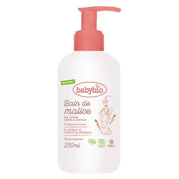 Babybio Soins Bain de Malice Gel Lavant Corps & Cheveux Bio 250ml