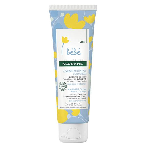 Klorane Bébé Calendula Crème Nutritive Cold Cream 125ml