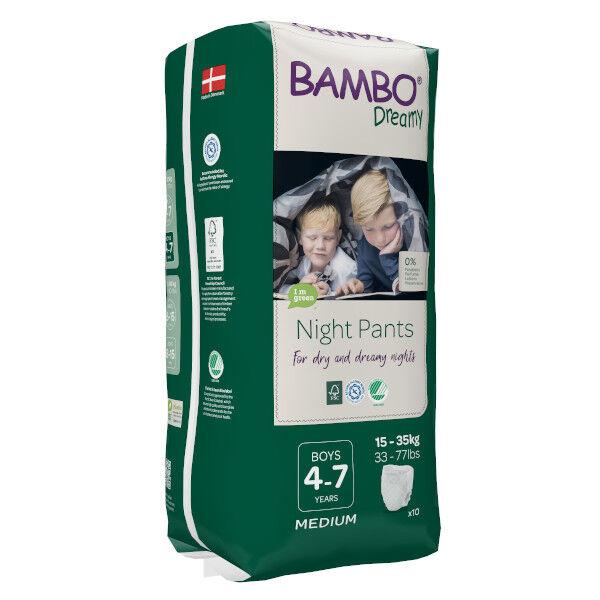 Bambo Nature Dreamy Couche de Nuit 15-35 kg Boy 10 unités