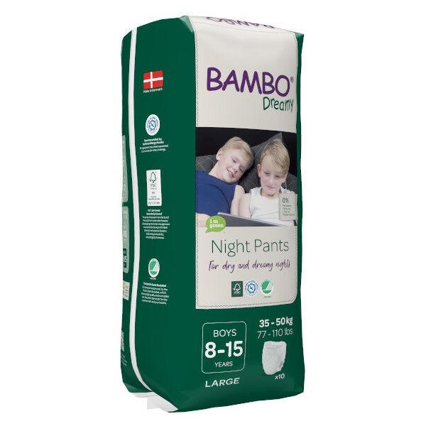 Bambo Nature Dreamy Couche de Nuit 35-50 kg Boy 10 unités