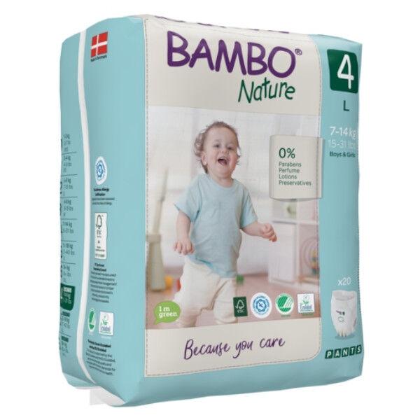 Bambo Nature Culottes d'Apprentissage Taille 4 7-14 kg 20 unités