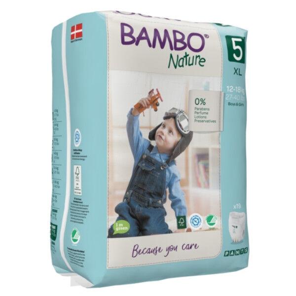 Bambo Nature Culottes d'Apprentissage Taille 5 12-18kg 19 unités