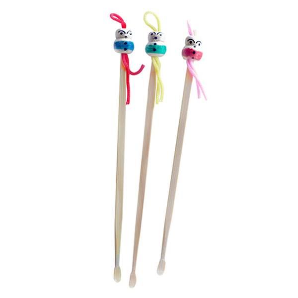 Cap Cosmetics Accessoires Gratte Oreilles Mimikaki Bambou 3 unités