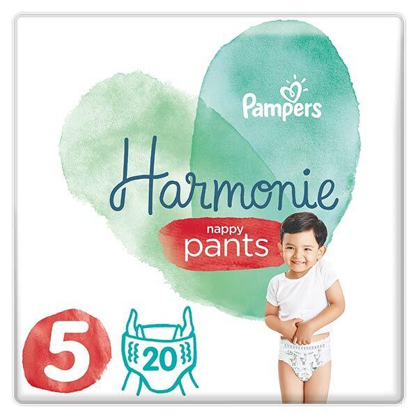 Pampers Harmonie Pants Géant T5 12-17kg 20 couches