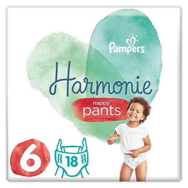 Pampers Harmonie Pants Géant T6 15kg et plus 18 couches
