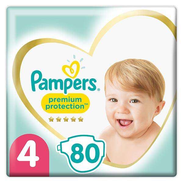 Pampers Premium T4 9-14kg 80 couches