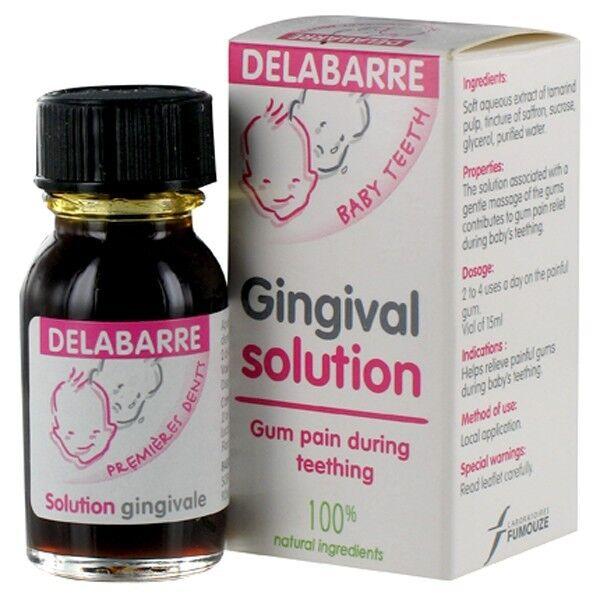 Delabarre Solution Gingivale Premières Dents 15ml
