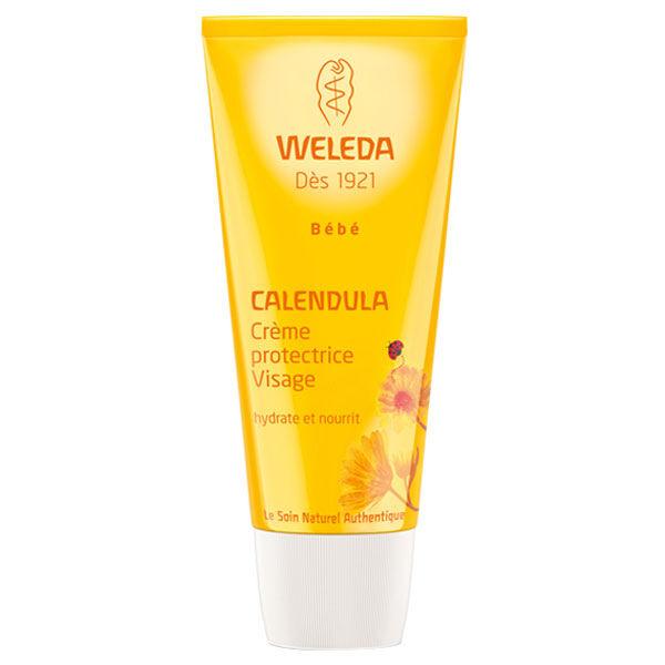 Weleda Bébé Calendula Crème Protectrice Visage 50ml