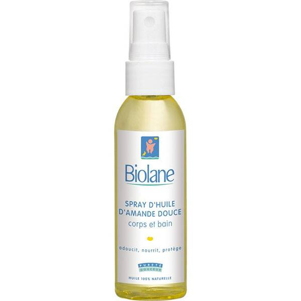 Biolane Spray d'Huile d'Amande Douce 75ml