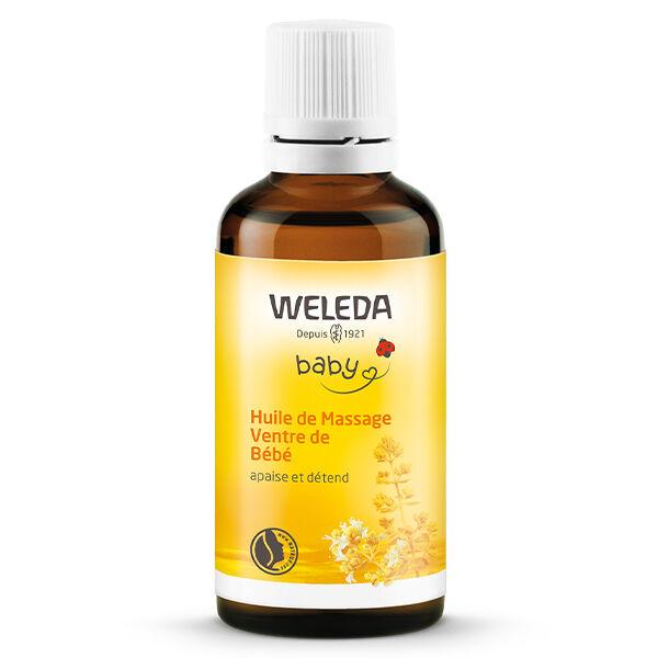 Weleda Bébé Huile de Massage Ventre 50ml