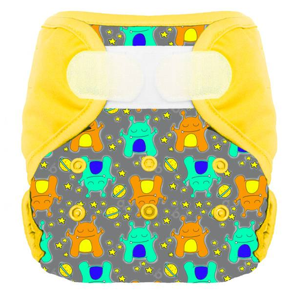 Bumdiapers Couche Lavable + 1 Insert Lucien 0-3 ans