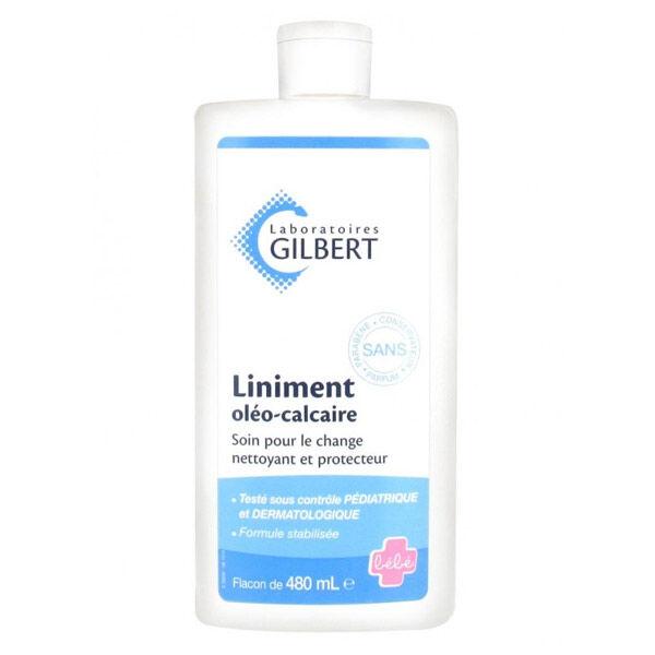 Laboratoires Gilbert Gilbert Bébé Liniderm Liniment Oléo-Calcaire 480ml