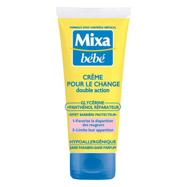 Mixa Bébé Crème pour le Change 100ml