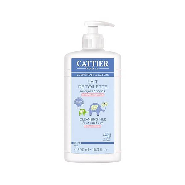 Cattier Bébé Lait de Toilette 500ml